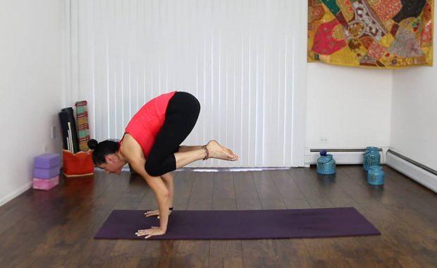 How to Do Crow Pose